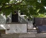 "Suburban Garden (front stoop), photograph, 15"" x 20"""
